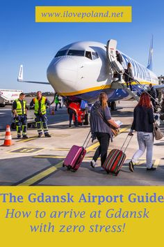 The ultimate guide on how to survive your arrival at Gdansk Airport in Poland. Gdansk Poland, Poland Travel, Krakow, Ultimate Travel, Travel Guide, Polish, Group, Board, Vitreous Enamel