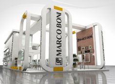 Exhibition Stall, Exhibition Stand Design, Booth Design, New Job, Design Projects, Architecture Design, Bambi, Exhibitions, Big