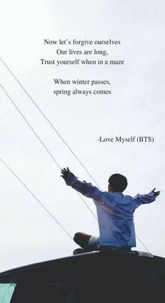 Answer: Love Myself by BTS Lyrics wallpaper Answer: Love Myself by. - Answer: Love Myself by BTS Lyrics wallpaper Answer: Love Myself by BTS Lyrics wallpap - Bts Song Lyrics, Pop Lyrics, Bts Lyrics Quotes, Bts Qoutes, Music Lyrics, Quotes Quotes, Quotes From Songs, Army Quotes, Life Quotes