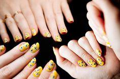 Proenza Schouler Spring 2012-Inspired Nails