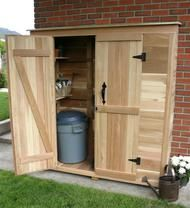 Leisure Seasons   Garbage Can Storage Shed RSS2001   On Sale