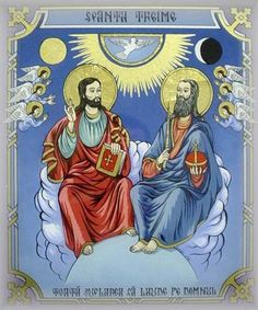 The Feast of the Holy Trinity is the Sunday following Pentecost.