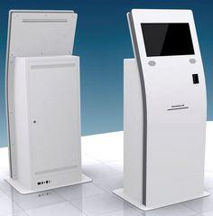 KCV CUSTOM free-standing interactive kiosk by SOLTEC S.L.