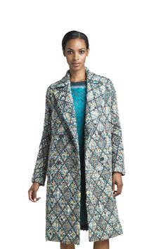Double-Breasted Tweed Coat by Missoni at Bergdorf Goodman. Tweed Coat, Couture, Missoni, Double Breasted, Autumn Fashion, Blazer, My Style, Sweaters, How To Wear