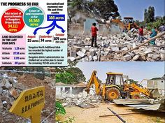 About one third of Government land is being encroached, Recently two Deputy Commissioners has been appointed to recover the enroached land on Bengaluru Urban District. #BangaloreLandNews