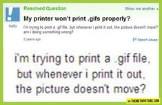 Sounds like Authur Weasly forgot that muggle printers are different than magic printers.. Smh