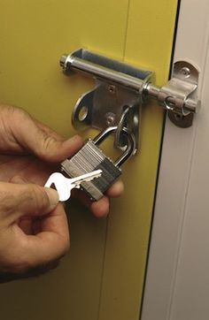Self Storage Unit In Lewes East Sus Lock With Key