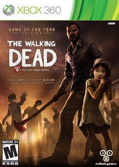 The Walking Dead Game of the Year  Xbox 360 by Telltale Games -- Click image for more details.(It is Amazon affiliate link) #photo
