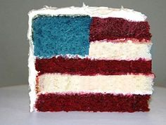 Forth Of July Cake #Food #Drink #Trusper #Tip