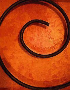 Orange Swirl Photograph - Kathy Clark ჱ ܓ ჱ ᴀ ρᴇᴀcᴇғυʟ ρᴀʀᴀᴅısᴇ ჱ ܓ ჱ ✿⊱╮ ♡ ❊ ** Buona giornata ** ❊ ~ ❤✿❤ ♫ ♥ X ღɱɧღ ❤ ~ Tues 17th Feb 2015