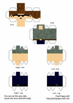 Minecraft Templates, Minecraft Crafts, Mc Banner, Papercraft Minecraft Skin, Character Template, Mc Skins, Fun Sleepover Ideas, Minecraft Characters, Fnaf Drawings