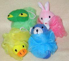 Stuffed Animal Poufs-Toddler Poufs  Animal Mesh Pouf by BailouBay