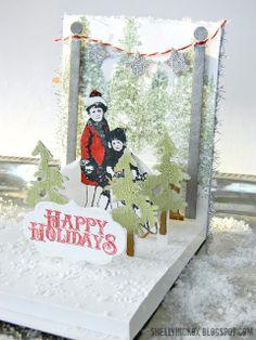 Stamptramp: Pop 'n Cuts Happy Holidays