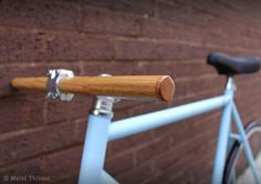 wood handlebars bicycle - Google Search