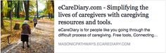 • NeedyMeds - A free resource for prescription drug savings and information on Patient Assistance Programs offering free or discounted medicine to those in need. • Five Wishes® - Assistance in preparing a legal Living Will that lets your family, friends and doctor know your medical wishes when you can no longer speak for yourself. • eCareDiary - An easy to use tool designed to simplify the sharing of information between caregivers and family members. http://masonicpathways.ecarediary.com/