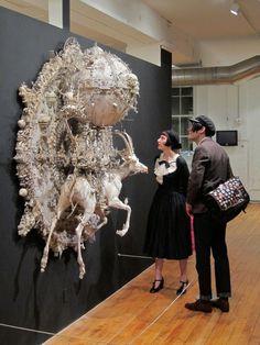 Kris Kuksi is mind boggling with his sculptures. #kriskuksi #sculpture