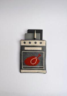 Dindon Pouch / Handmade needlepoint by KasiaUrbanRybska on Etsy, $58.00