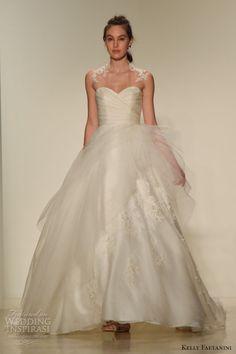kelly faetanini fall 2016 wedding dresses bridal week runway fashion beautiful wedding ball gown dress