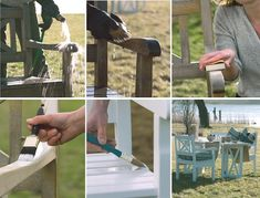 Clean and Care Garden Furniture - How to fresh up worn out garden furniture in wood. #WOCA - Well maintained and maintained garden furniture not only looks more attractive, but also lasts much longer.