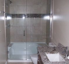 Our professional installers have installed countless frameless glass shower doors for our wonderful clients! Our installers in Regina and Swift Current travel hundreds of km's to surrounding communities to install frameless glass showers Walk In Tubs, Walk In Bathtub, Walk In Shower Designs, Bathroom Designs, Bathroom Ideas, Shower Installation, Home Landscaping, Assisted Living, Shower Tub