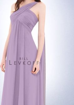 "Bridesmaid dresses: Bill Levkoff style 675 in ""violet"""