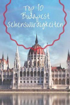 Die Top 10 Budapest Sehenswürdigkeiten in 2019 Places To Travel, Places To See, Budapest Guide, Travel Around The World, Around The Worlds, Attraction, Budapest Travel, Reisen In Europa, I Want To Travel