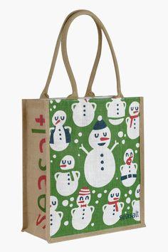 Jute Shopper | Unique printed jute bag | Seasalt