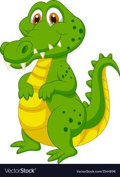 Illustration about Illustration of Cute crocodile cartoon. Illustration of animal, crocodile, drawing - 33243549 Crocodile Illustration, Crocodile Cartoon, Baby Animals, Cute Animals, Disney Classics Collection, Inkscape Tutorials, 1970s Cartoons, Cartoon Wall, Cartoon Characters