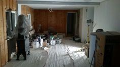 Stuen med nytt tak