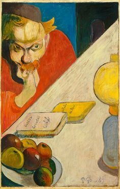 paul gaugin, Meyer de Haan, 1889. The Dutch artist who stayed with Gauguin in Le Pouldu is featured in this work.