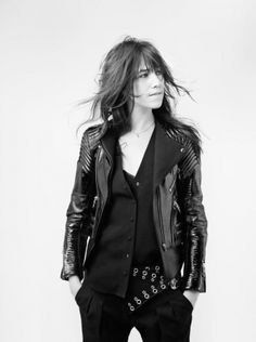 Charlotte Gainsbourg by Nicolas Guerin