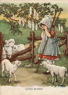 Clara M. Burd illustraton,1930. Via wordsandmelodies