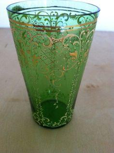 Green Antique Moser