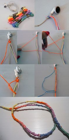 DIY: Free People Wrapped Earbuds   Made in Pretoria