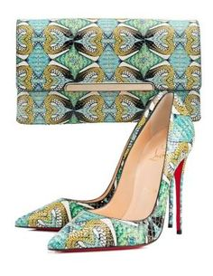 Christian Louboutin Shoes and Bag | Ok, fine...if you insist, I'll take these, too! :) - Cass