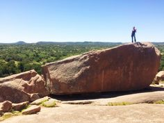 Enchanted Rock ♀️#TravelTexas #Fredericksburg #Texas