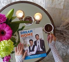 #excitingmoment Taking me time to enjoy my advanced copy of Dream Home by my favorite HGTV stars @mrdrewscott and @mrsilverscott of #PropertyBrothers . I have been a huge fan of their show and their talent shines through in this book. Beautiful renovations and chic design ideas. A must have! The book will be available April 4th, you can order yours today! LINK IN BIO... I would hurry up and order mine today...... - Interior Design Ideas, Interior Decor and Designs, Home Design Inspiration…