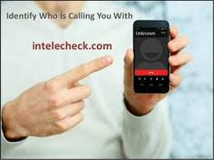Get details on unmask person who is calling you with #intelecheck