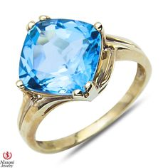 Etsy NissoniJewelry presents - Blue Topaz Fashion Ring 10k Yellow Gold    Model Number:CG-3910BTY0    https://www.etsy.com/ru/listing/275598734/blue-topaz-fashion-ring-10k-yellow-gold