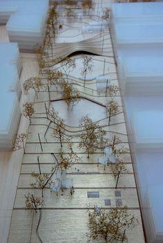 Vista de la maqueta. Flying carpet por MX_SI y MestresWåge. Imagen cortesía de POCH.