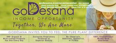 http://godesana.com/incomeopportunity.asp?sponsorsite=acaciacenter goDésana has eliminated the hoops and hurdles to getting started in business with no sign-up fees, no auto-delivery requirement, no investment, and no personal purchase requirements to earn, making this the Income Opportunity by which all others should be compared.