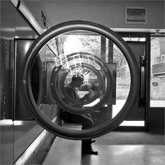 Cubit town launderette, East London.    Bronica SQai 40mm. Ilford Delta 3200, overexposed by one stop, underdeveloped by one stop, Dev Xtol 1:2 16mins.
