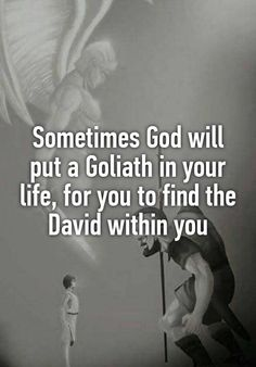 Isnt this the truth! In order to find courage, sometimes God brings giants into the Christian life.Isnt this the truth! In order to find courage, sometimes God brings giants into the Christian life. Faith Quotes, Me Quotes, Motivational Quotes, Inspirational Quotes, Gods Will Quotes, Bad Dad Quotes, Praise God Quotes, Future Quotes, Courage Quotes