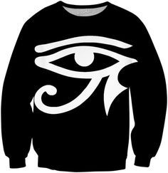 What better way to RageOn! then with this Black and White Eye of Horus Pullover…