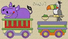 Trenzinhos - Infantil - Bordados - Catálogo