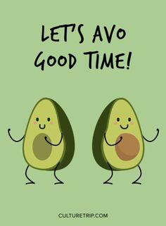 Das erste All-Avocado-Restaurant in Amsterdam ist jetzt geöffnet - Deco - - Avacado Ideen - Aguacate Avocado Puns, Avocado Cartoon, Avocado Art, Cute Avocado, Avocado Guacamole, Avocado Recipes, Wallpaper Quotes, Iphone Wallpaper, Kids Brand