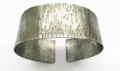 Cuff bracelet-Wide band-Silver bracelet-Adjustable-Hand…