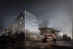 Galeria de Built by Associative Data inspira-se em Jackson Pollock para projeto em Beirute - 3