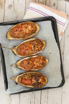 Melanzane striate ripiene #food  Stuffed egg plants #italian