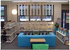 Clutter-Free Classroom: Classroom Libraries - Setting Up the Classroom Series (Ideas for how to set up books)